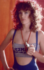 KELLY LE BROCK sexy workout vest top WEIRD SCIENCE Original 1985 Transparency