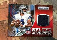 Dallas Cowboys Dak Prescott Jersey Card