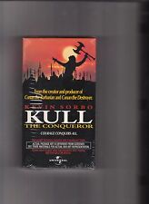 KULL the Conqueror VHS 1998 Rare SEALED Screening PROMO Kevin Sorbo Tia Carrere