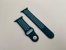 Genuine Apple Watch Nike Sport Band Strap Turquoise / Aurora Green 44mm 42mm