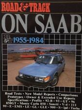 ROAD & TRACK ON SAAB 1955-1985, CLARKE, NEW BROOKLANDS BOOK / Your best offer
