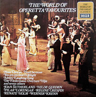 SPA 466 The World Of Operetta Favourites Joan Sutherland Hilde Gueden etc NM/EX