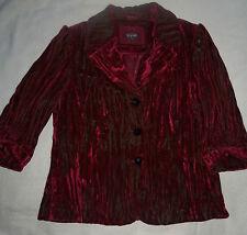 Marks and Spencer Velvet Button Coats & Jackets for Women