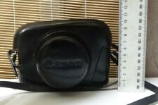 Vintage Leather Canon Camera Case Pouch