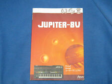 PAPERBACK, ARTURIA JUPITER-8V JUPITER - 8V USER'S MANUAL