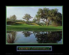 INSPIRATIONAL ART PRINT Achievement Golf Motivational