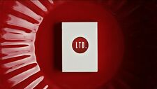 Ellusionist White LTD Deck - Limited Playing Cards - Rare - Magic Tricks - New