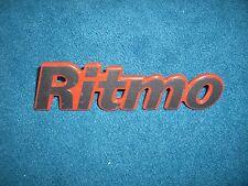 Emblem / Badge Heckklappe Fiat Ritmo 125 TC Abarth 92 kw