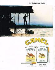PUBLICITE ADVERTISING 014   1989   CAMEL   cigarettes
