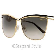 Chopard Cateye Sunglasses SCHB26S 0301 Rose Gold/Black B26