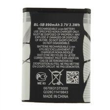 New 3.7V 890 mAh BL-5B BL5B Battery For Nokia N90 3230 5300 5070 6121 6080 BG