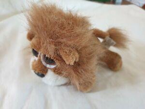 Little Carnie Lion Russ Berrie Beanie Plush Soft Toy Wild Animal Safari Rare