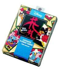 HANAFUDA Disney Character Japanese Flower Card Game w/ Instruction Japan F/S