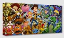 Disney Fine Art Treasures On Canvas Collection Cast of Toys-Toy Story-Rogerson