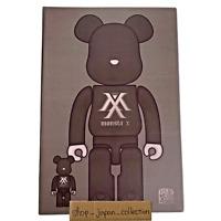 MONSTA X BE@RBRICK Only 400% Medicom Toy Figure Original Bearbrick Sign 28cm