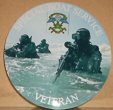 Special Boat Service vinyl sticker personalised free.
