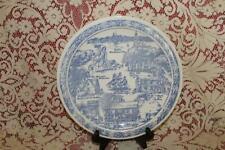 Vernon Kilns State Plate SALEM MASSACHUSETTS House Of Seven Gables Marblehead