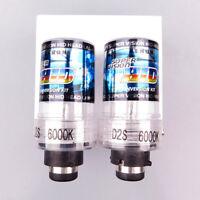2X 35W D2S/D2C Xenon White Car Replacement HID Headlight Light Bulbs 8000K