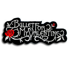 Bullet for My Valentine Patch Iron on Music Metal Core Band Rock Heavy Badge MC