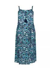 Evans Navy Blue Print  Maxi  Dress - BNWT - Plus Size 28