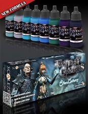 Scale 75 Elven Colours Acrylic Paint Set 8 Bottles