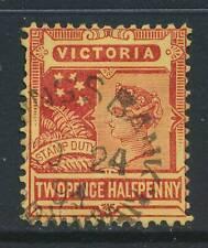 VICTORIA, postmark   SAVINGS BANK