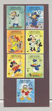 Grenada Grenadines #350-359 IYC, Disney 9v & 1v S/S Imperf Proofs