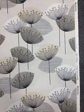 DANDELION CLOCKS Furnishing Fabric in Natural - 1910mm 94% Cotton 6% Nylon