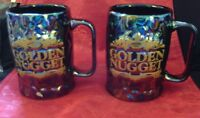 GOLDEN NUGGET HOTEL CASINO LAS VEGAS ATLANTIC CITY COFFEE MUG ONE (1) + BONUS