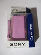 Sony Soft Carrying Case for Cyber-shot H Series camera | LCS-HH/T Pink