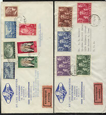 Greece   2  express  covers   to    US             KL0512