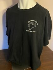 Weezer Enlightenment Tour Shirt 2002 Local Crew Xl Preowned