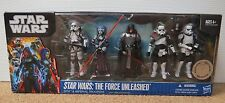 STAR WARS BATTLE PACK THE FORCE UNLEASHED SITH & IMPERIAL TROOPERS SEALED