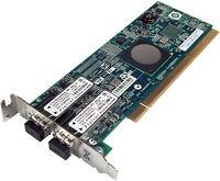 HP 3PAR E/F-Class 4GB 2-Port FC PCIx Adapter 641233-001 LP11002 FC1120006-01E