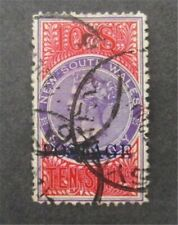 nystamps British Australian States New South Wales Stamp # 76 Used $105 U4y1524