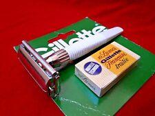 Nouvelle annonce Gillette Slim Twist - Double Edge vintage - Rasoir de sûreté ancien England