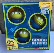 DISNEY PIXAR TOY STORY SIGNATURE COLLECTION SPACE ALIENS 3-PACK ~ NEW IN BOX!