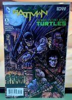 DC COMICS IDW Batman Teenage Mutant Ninja Turtles # 5 Kevin Variant Cover !!