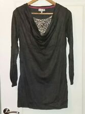 Per Una Womens Dark Grey Tunic - Size 14