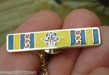 old vintage UCA Universal Cheerleaders Association tie bar pin U.C.A. assoc Team