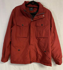 Mens Size Small Abercrombie And Fitch Coat Jacket Red