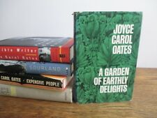 Joyce Carol Oates Garden Earthly Delights Them Expensive People... SIGNED HB Lot