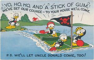 Disney Donald Duck, Huey, Dewey, & Louie Pirating, Gift Card, Carl Barks Art?