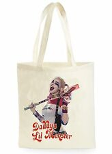FUNNY Harley Quinn POSTER Cool Shopping Tela Tote Bag Ideale Regalo