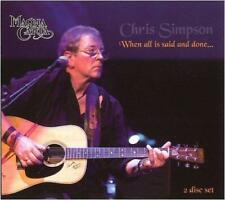 CHRIS SIMPSON - WHEN ALL IS SAID AND DONE... 2CDs (NEW SEALED) Folk Magna Carta