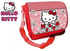 SAC A BANDOULIERE ENFANT HELLO KITTY ROUGE 35 X 10 X 25 CM