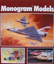 GUIDE DE PRIX/LIVRE : MONOGRAM MODELS (voiture,avion,stock car,hot rod,revell)