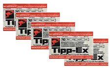 50 Blatt TIPP EX Korrekturpapier für Schreibmaschine universal Nr. 1000