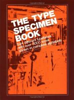 The Type Specimen Book: 544 Different Typef... by V&M Typographical, I Paperback
