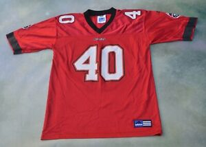 Adidas NFL Tampa Bay Buccaneers Mike Alstott #40 Jersey Size Youth L (14-16).